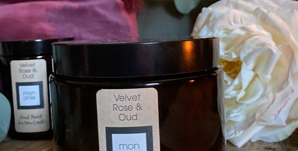 Scented Candle - Velvet Rose & Oud