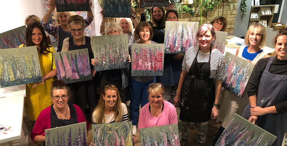 Painting & Prosecco - Alliums - 26th Feb