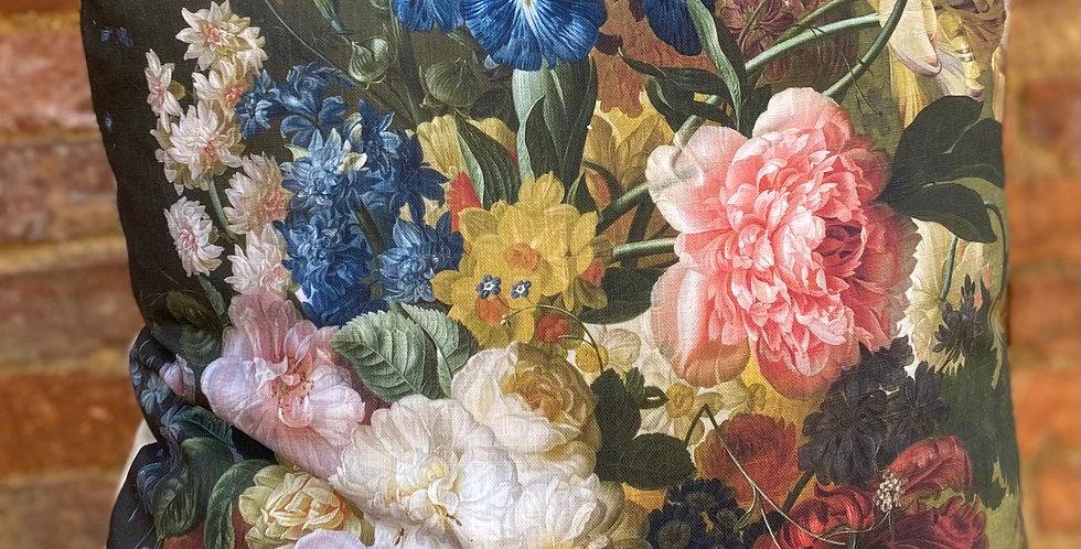 Floral Cushion - Peony