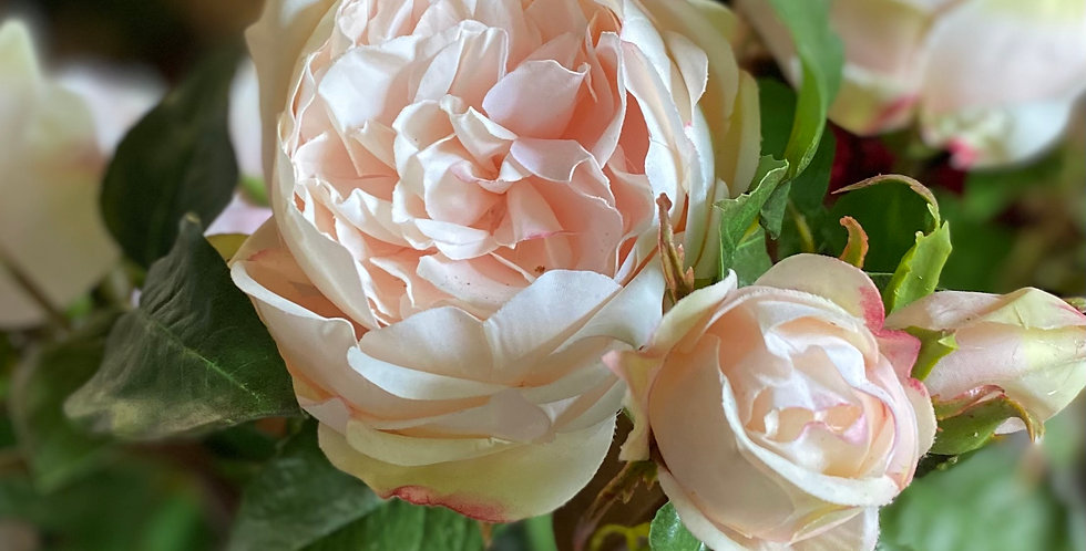 Scented Real Touch Spray Rose