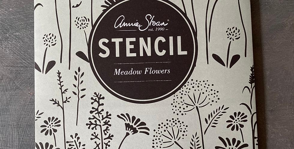 NEW Meadow Flowers Stencil