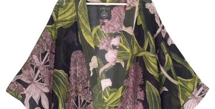 One Hundred Stars Short Kimono - Medinilla