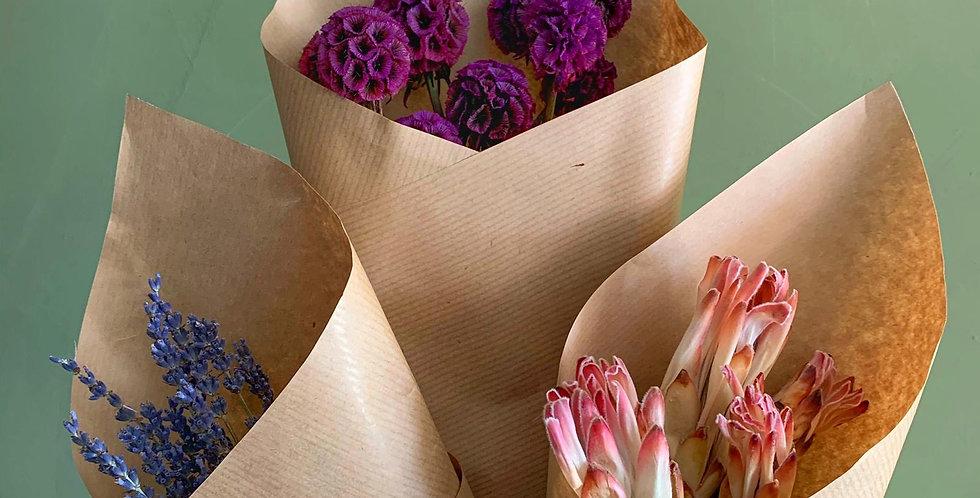 Preserved Flower Trios