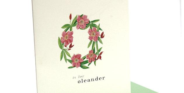 'o' Card