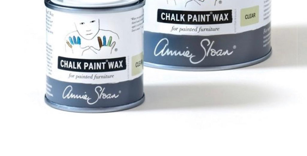 Chalk Paint Wax - 120ml - Clear, White, Dark & Black