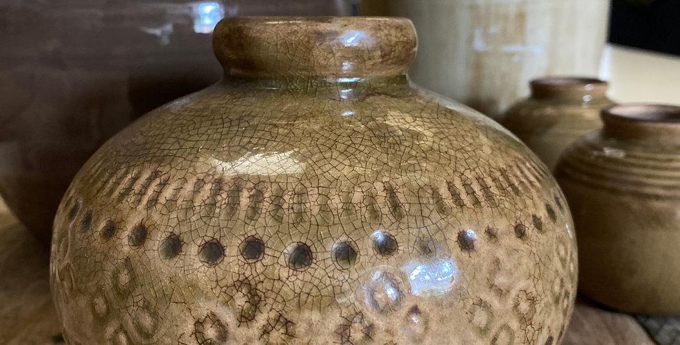 Round Pattern Vase
