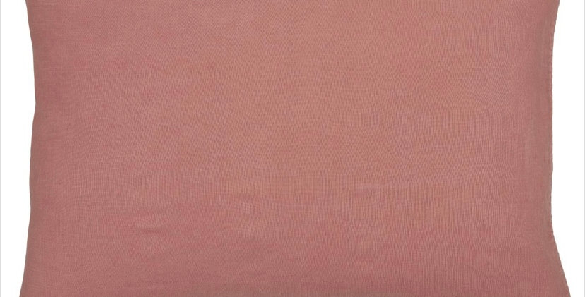 Large Linen Cushion - Faded Rose
