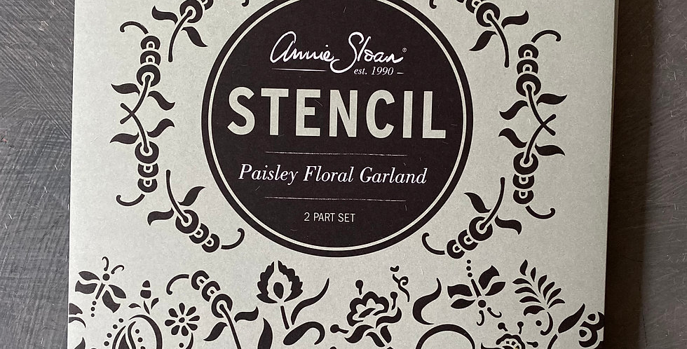 NEW Paisley Floral Garland Stencil