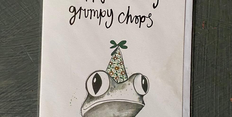 Grumpy Chops Card