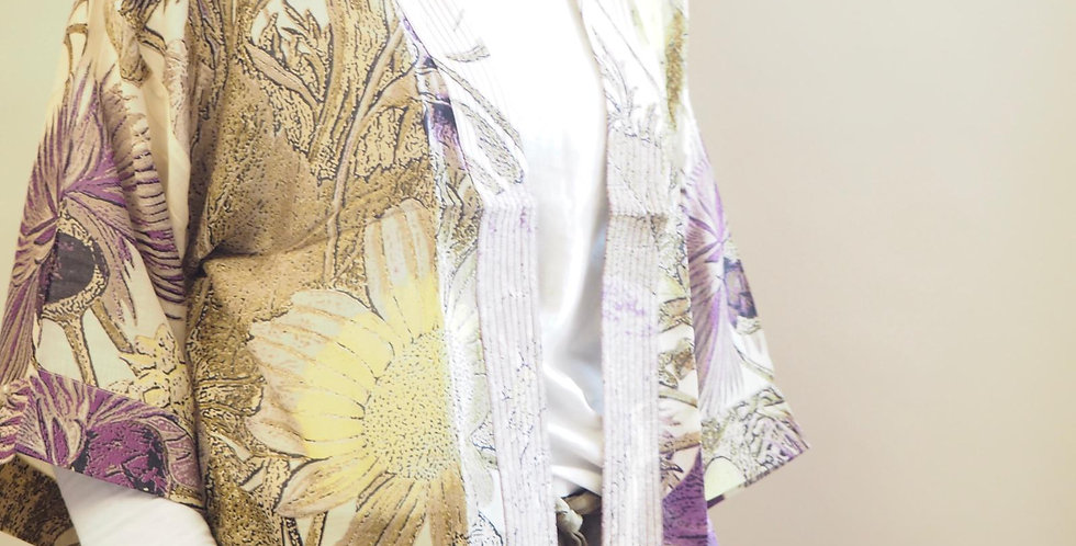 One Hundred Stars Kimono - Purple Thistle