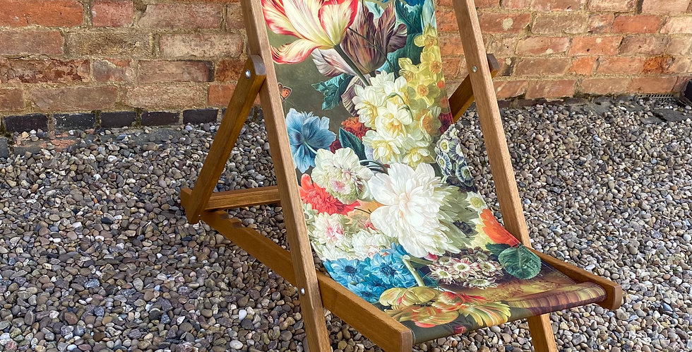 Floral Deckchair - Tulip