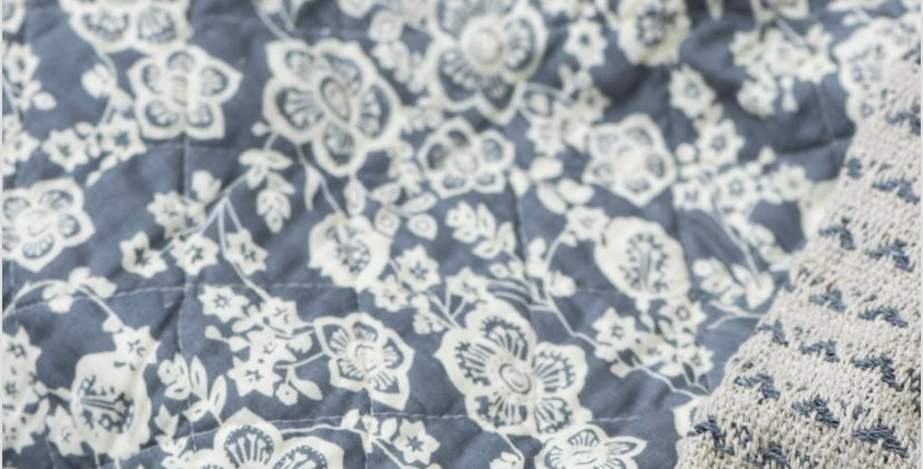 Quilt - Blue & White Flowers