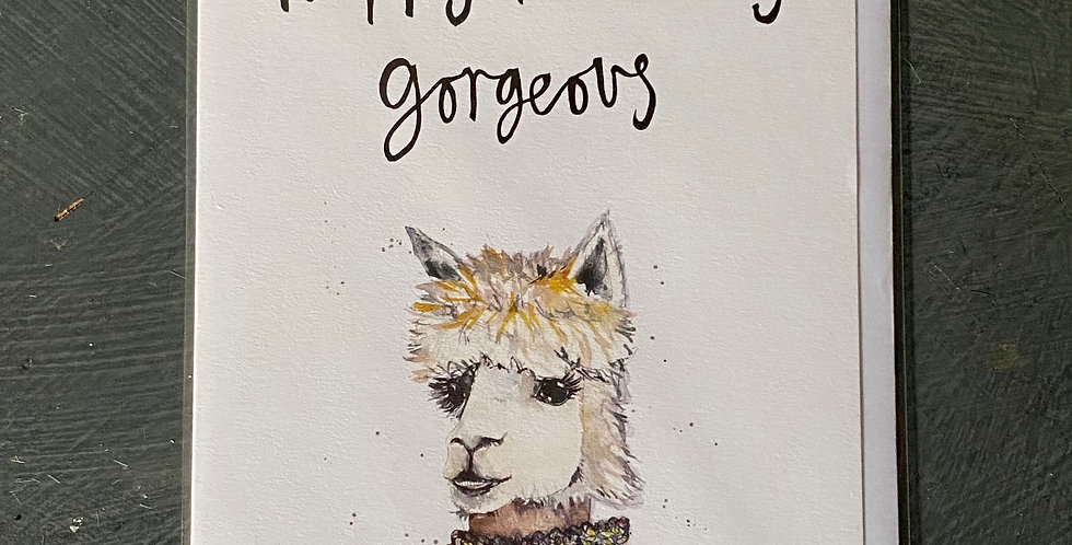 Happy Birthday Gorgeous  Card