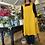 Thumbnail: Cross Back Apron - Sunshine Yellow