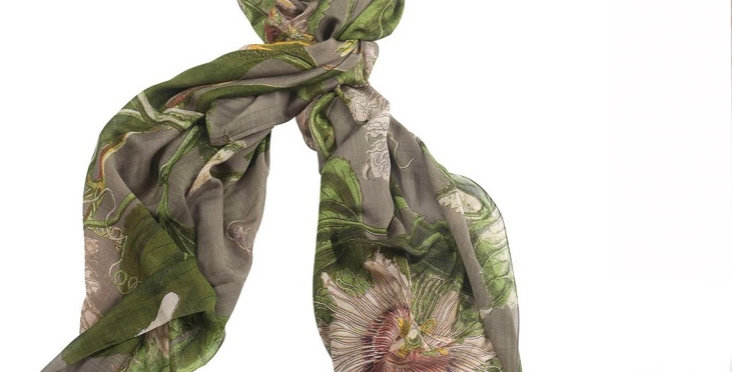 One Hundred Stars Scarf - Passion Flower