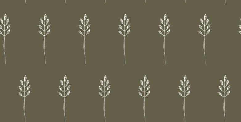 Napkin - Wild Wheat - Green