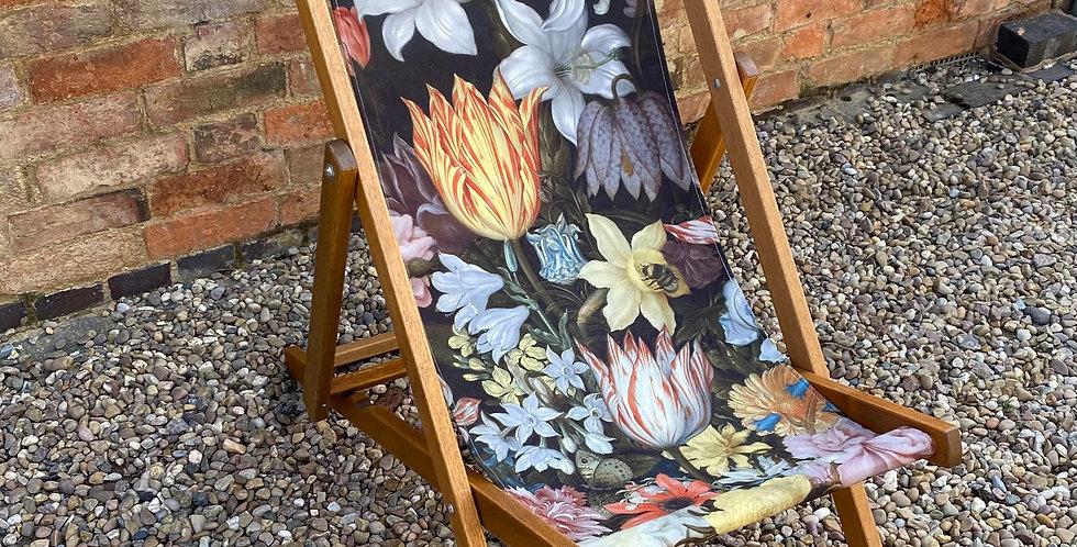 Floral Deckchair - Lily