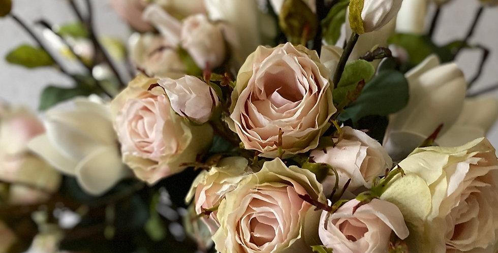 Antique Rose Spray