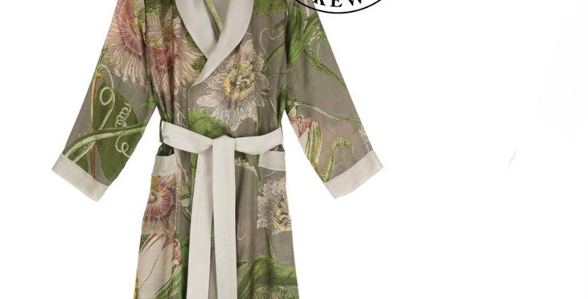 One Hundred Stars Gown - Passion flower