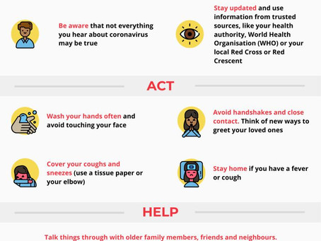 COVID-19: Ways to help protect yourself and your loved ones