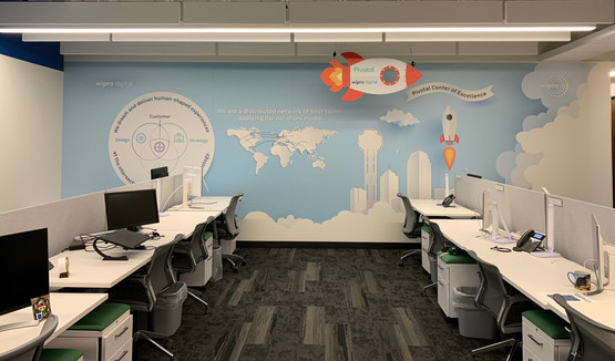 Dallas CoE Enviromental Graphics