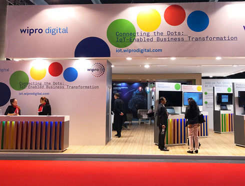 Wipro Booth Design