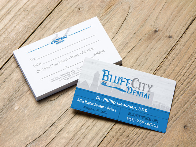 Bluff City Dental Branding