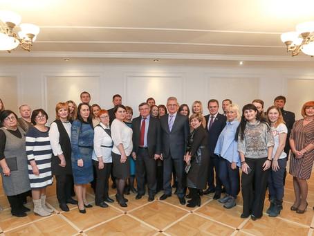 11 декабря   И.А. Белозерцев  встретился с  победителями конкурса президентских грантов
