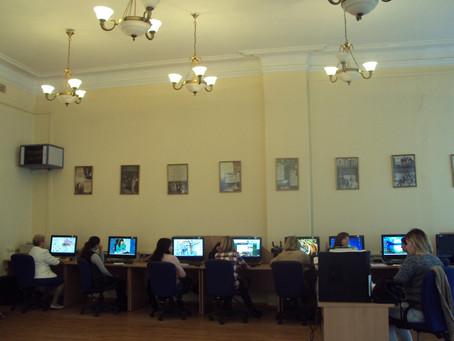 1 октября-начало занятий новой группы слушателей курсов повышения квалификации