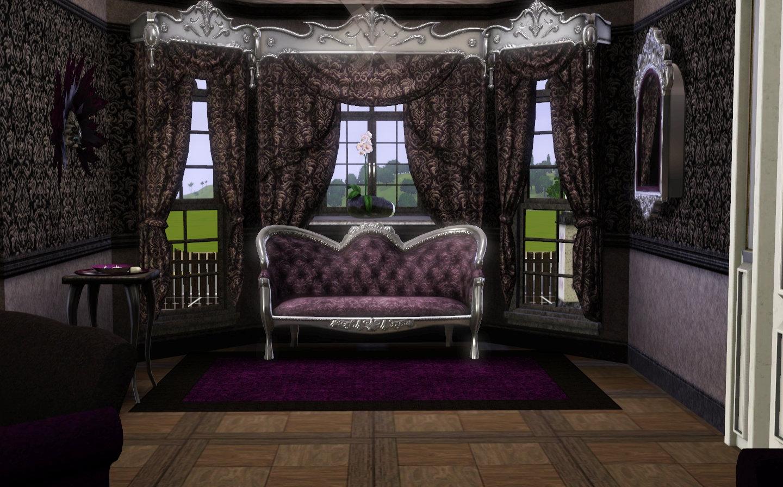 sfondo salotto gotico per sito internet