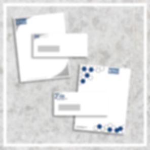 Papeterie enveloppe en-tête offset mrs