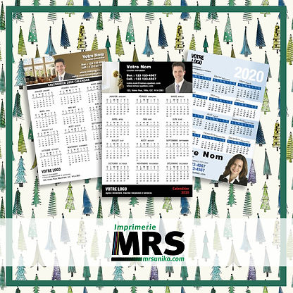 Calendriers magnétiques mrs