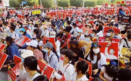 The Burmese Coup d'etat: A 21st Century Revolution