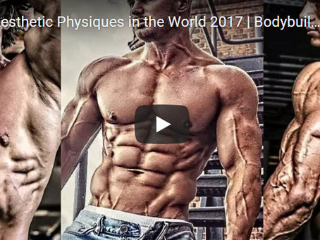 Top 25 Best Aesthetic Physiques in the Work 2017 | Bodybuilding