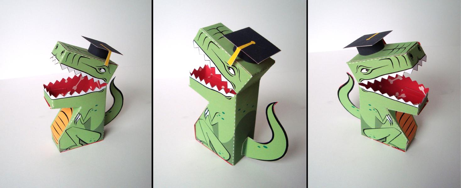 Graduate Dinosaur