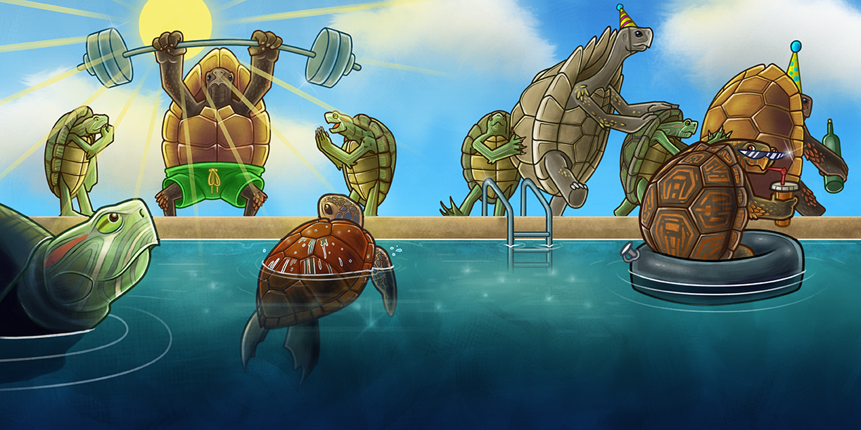 """""""Don't Call Me Turtle"""" Spread #4"""