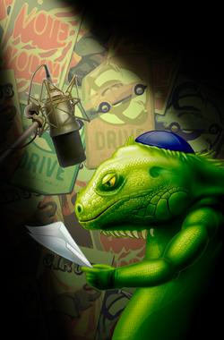 Iguana Chanukah
