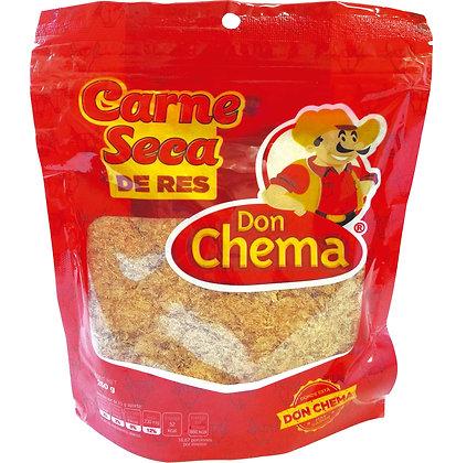 CARNE SECA DE RES DON CHEMA 250G