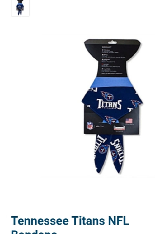 Tennessee Titans NFL Bandana