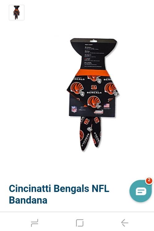 Cincinatti Bengals NFL Bandana