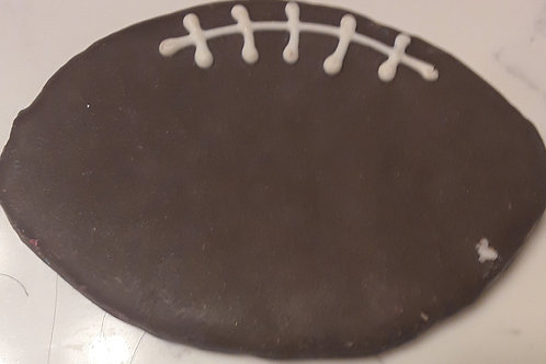Large Football Decorated Treat