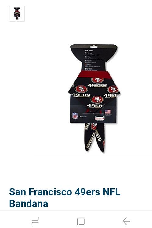 San Francisco 49ers NFL Bandana