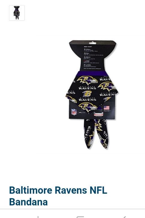 Baltimore Ravens NFL Bandana