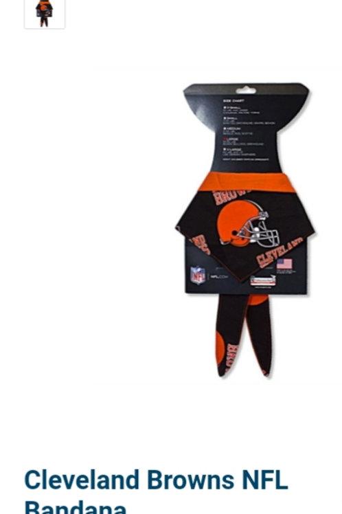 Cleveland Browns NFL Bandana