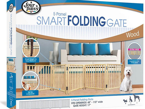 Four Paws Free Standing Gate for Small Pets