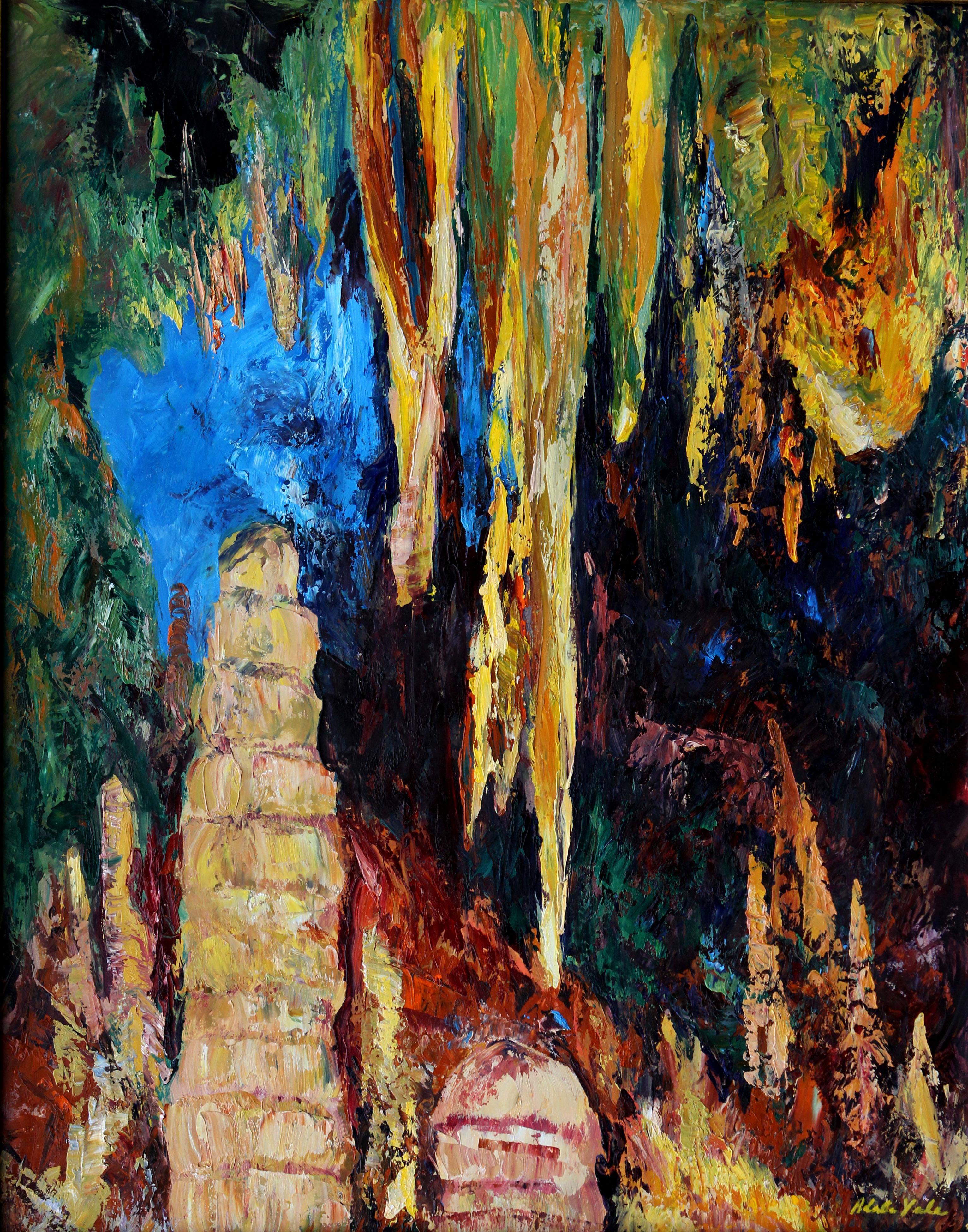Grotto #7 - 24X19