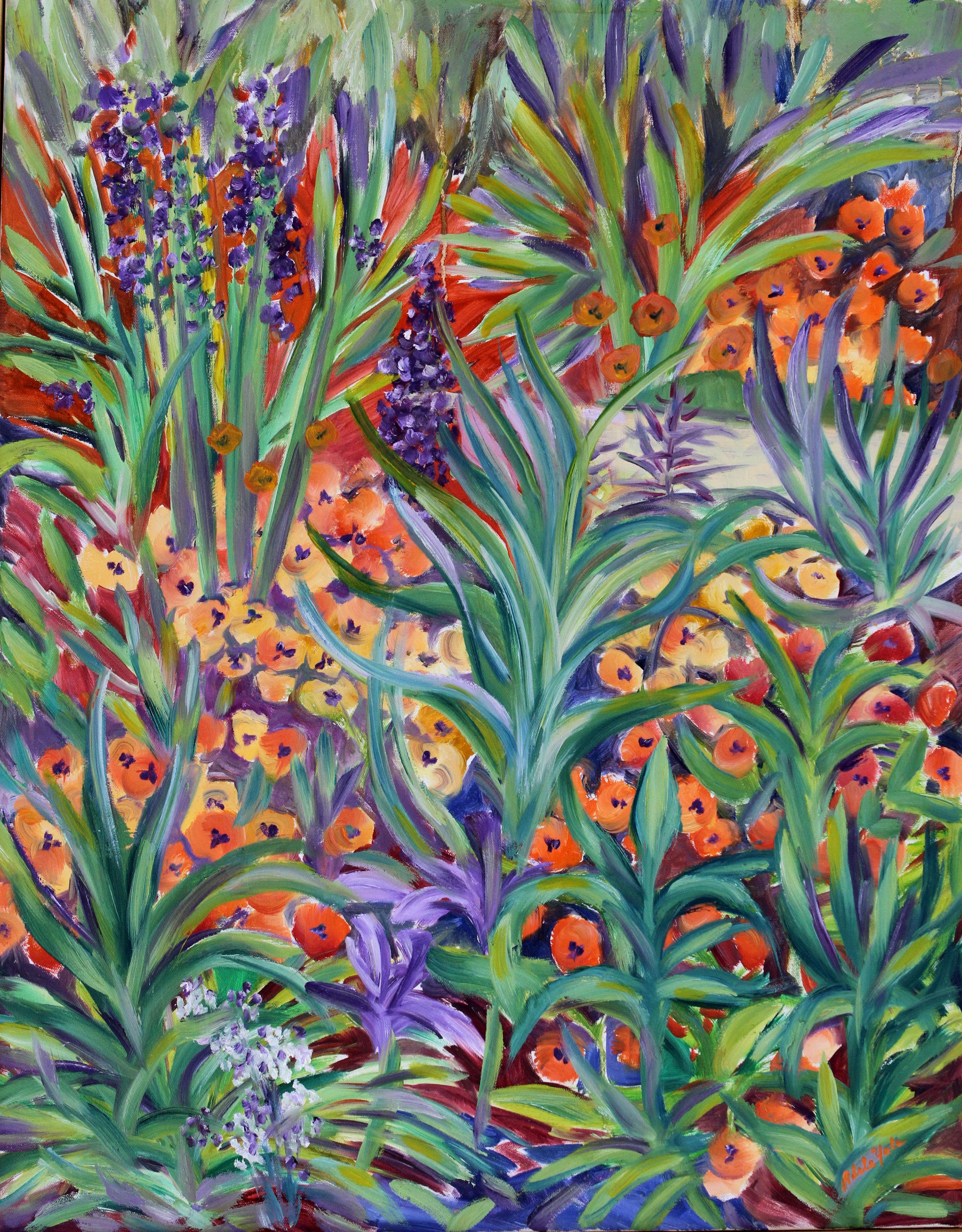 Monet's Flower Garden