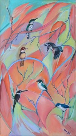 Birds of the Tropics