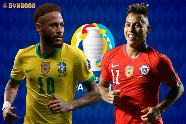 Nhận định kèo Brazil vs Chile Copa America 2021