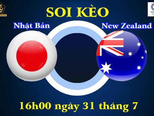 Soi Kèo Olympic Tokyo 2021 | U23 Nhật Bản Vs U23 New Zealand | 16h00 Ngày 31/07